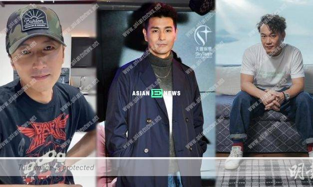 Ruco Chan felt stressful when performing with Eason Chan and Nicholas Tse