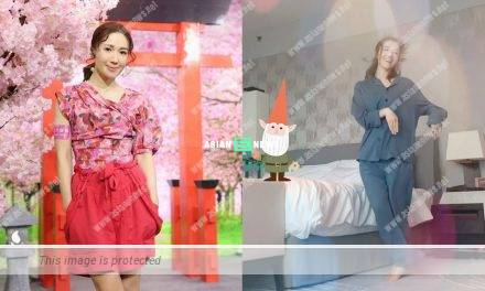 Selena Lee won compliments for exercising in the morning