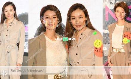 TV Queens Ali Lee and Sisley Choi participate in a documentary