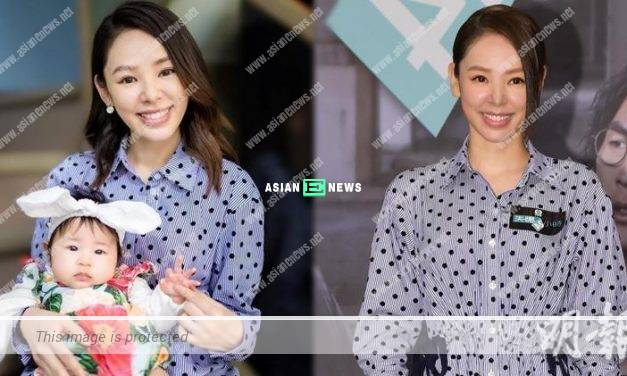 Zoie Tam continues to breastfeed her daughter so as to ensure her body figure remains the same