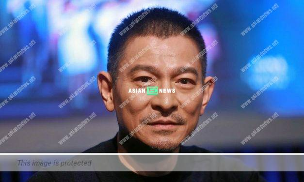 Superstar Andy Lau drives his Audi vehicle and enjoys the nature
