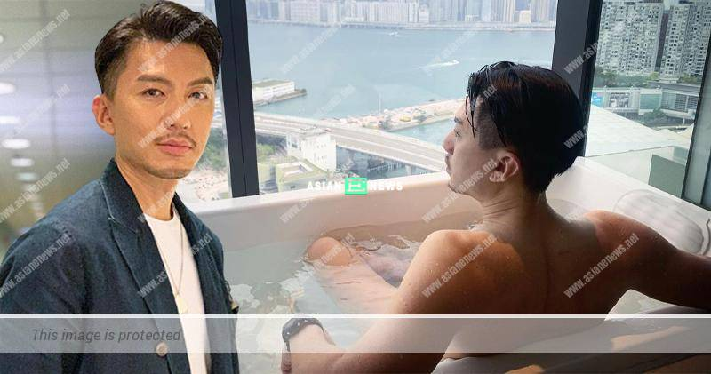 Benjamin Yuen goes for staycation at a hotel