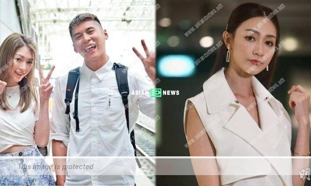 """Carmaney Wong dismissed about being the """"third party"""" between Carlos Chan and Shiga Lin"""