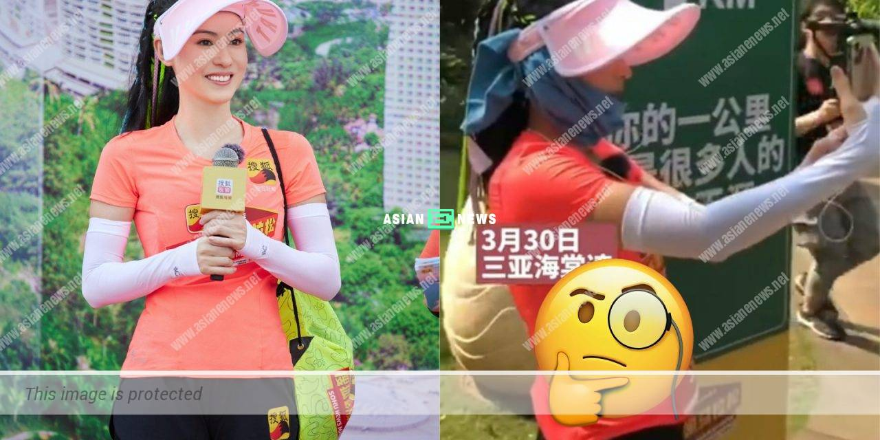 Is Cecilia Cheung really fit or because of photo filtering?