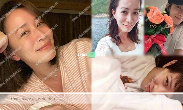 Charmaine Sheh shows her selfie without makeup and won compliments from Sharon Chan