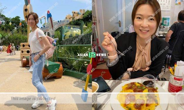 Roger Kwok's wife Cindy Au openly shares her keeping fit menu