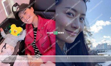 Fala Chen goes to work and takes her daughter along