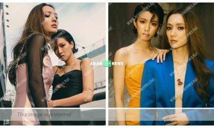 Grace Wong and Sisley Choi take stylish and sexy photos together