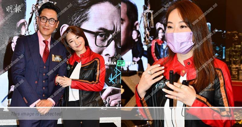 Jeannie Chan called her manager immediately after shooting a driving scene