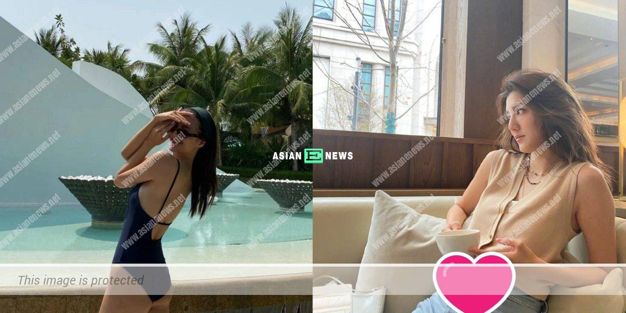 Karena Ng is suspected to be expecting because of her belly?