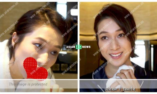 Linda Chung shares her method about teeth whitening