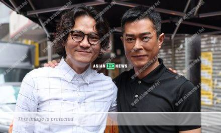 Movie King Louis Koo and Gordon Lam challenge fatherly roles in new film