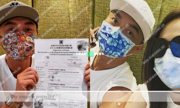 Matt Yeung feels alright after going for second Coronavirus vaccination