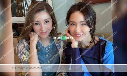 Two beauties Michelle Reis and Gigi Lai have a gathering