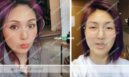 Busy taking care of her son? Miriam Yeung looks tired during quarantine period