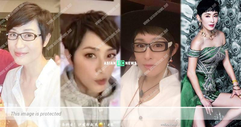 54-year-old Monica Chan resembles Sharla Cheung?