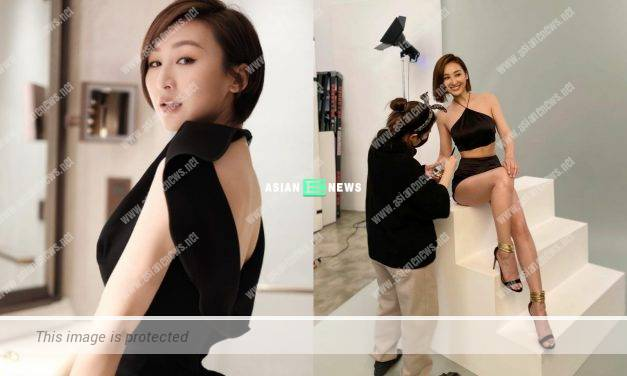 Samantha Ko is determined to keep fit in order to wear small size