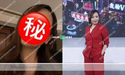 Sheren Tang's confidence won compliments from the netizens