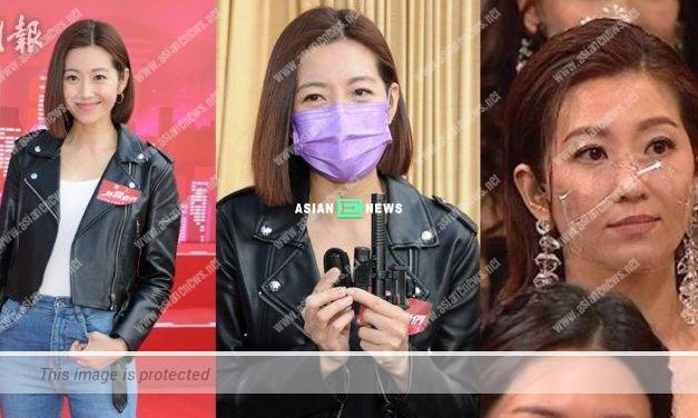 Yoyo Chen explains about showing black face to her husband Vincent Wong