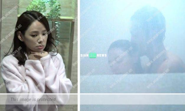 Zoie Tam's husband told her to make safety measures when shooting a bath scene with Shaun Tam