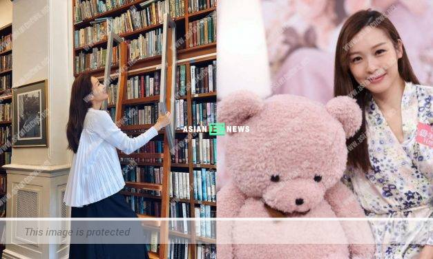 Bookworm? Ali Lee reads books to enrich her knowledge