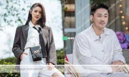 Carina Zhang is mad at Raymond Lam whenever filming kissing scenes?