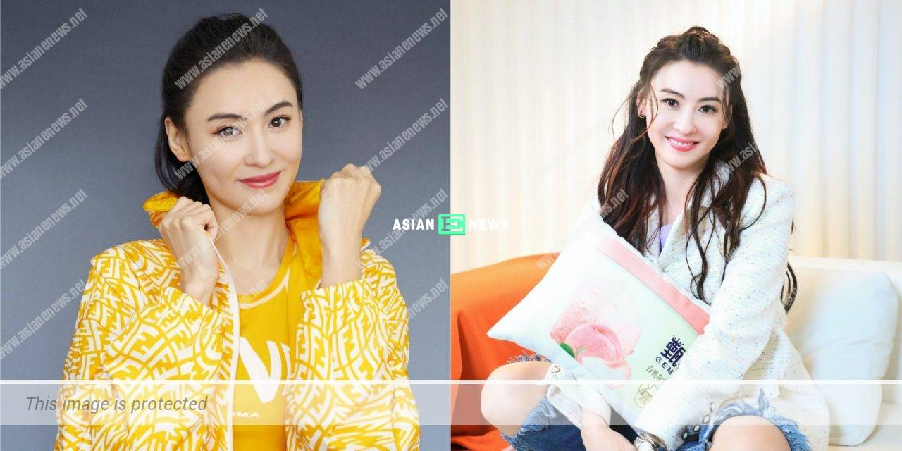 Cecilia Cheung advertises for Fendi brand and shows her sporty look