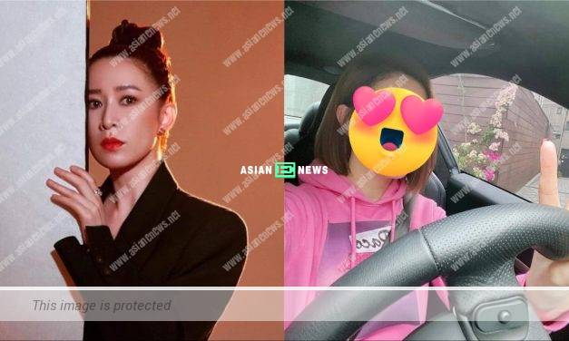 45-year-old Charmaine Sheh is getting younger in her new selfie?