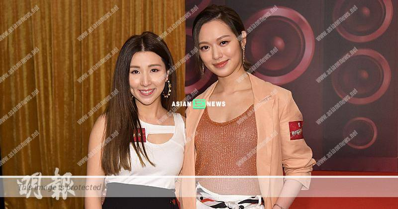 Crystal Fung approaches Kayee Tam to teach her singing