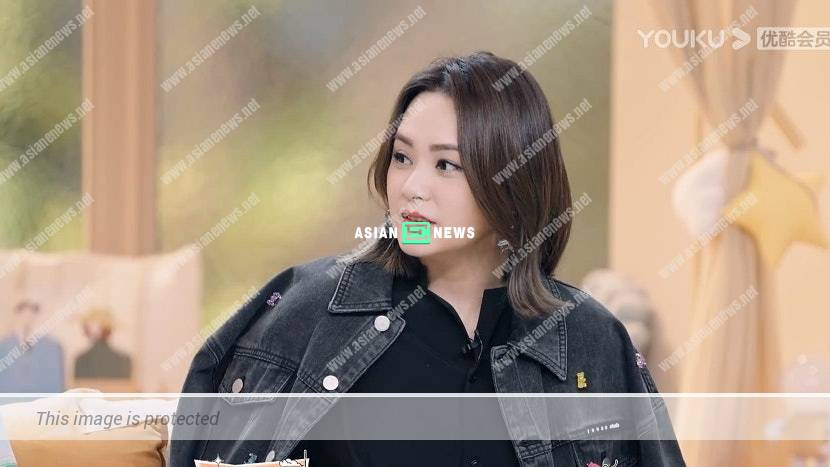 Gillian Chung gives her hard-earned money away when watching live broadcast