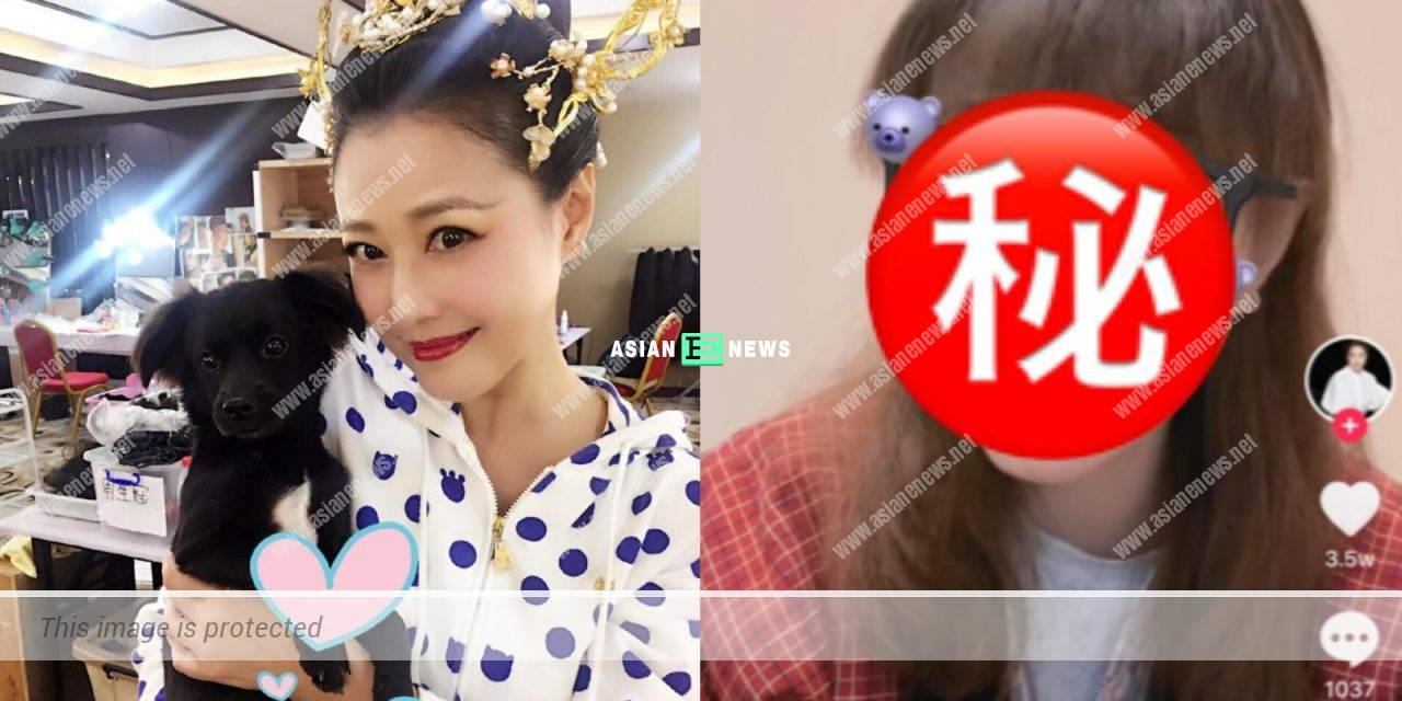 Looking young? 54-year-old Kathy Chow shows her new hairstyle