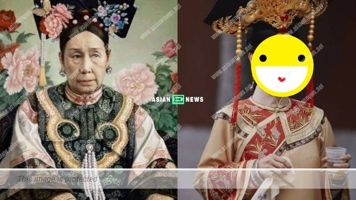 Chinese pop diva Na Ying resembles a queen