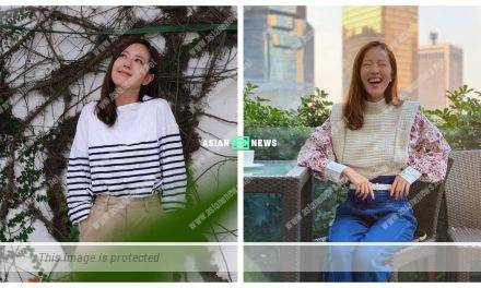 Natalie Tong gains weight? Her double eyelids become visible suddenly?