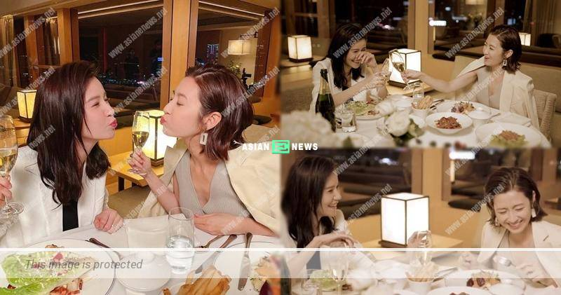 Is Edwin Siu jealous? Priscilla Wong and Yoyo Chen have candlelight dinner