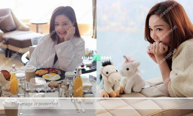 Kenneth Ma admits he is the photographer? Roxanne Tong enjoys delicious breakfast in a bathrobe
