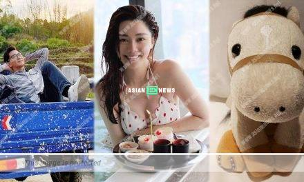 Kenneth Ma is travelling again? Roxanne Tong shows her swimsuit photo