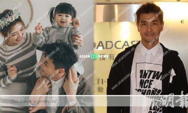 Ruco Chan is worried that his daughter might cry when going to kindergarten