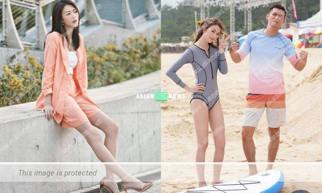 Too skinny? Carlos Chan told Shiga Lin to gain some weight