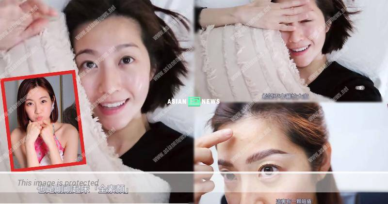 39-year-old Yoyo Chen shows her natural beauty