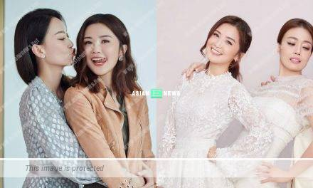 Joey Yung pointed Charlene Choi has an active tongue