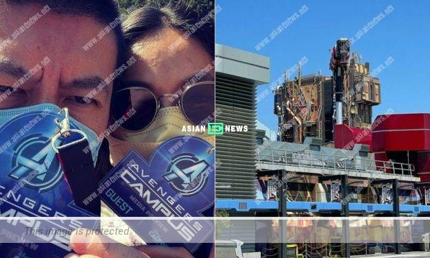 VIP? Edison Chen and his family are invited to try new facilities in Disneyland Park