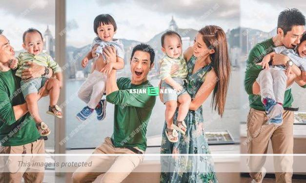 Happy Father's Day! Kevin Cheng and his family go to a hotel for staycation as celebration