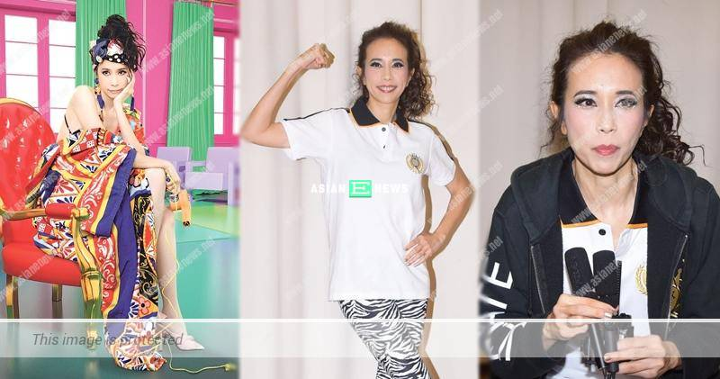Karen Mok is slammed by Chinese netizens for wearing wrong clothes brand