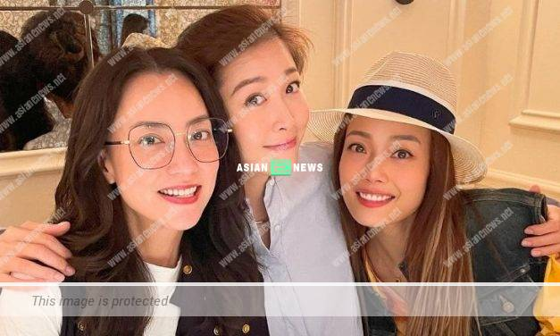 Niki Chow and Joey Yung have a gathering in Mainland China