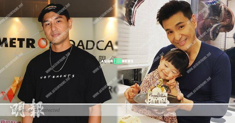 Ruco Chan is worried about the bonding with his daughter when shooting drama