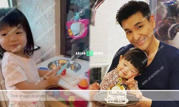 """Ruco Chan feels elated when his daughter """"cooks"""" for him only"""