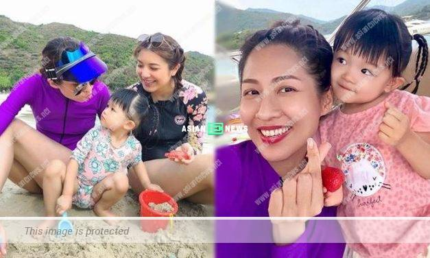 Sharon Chan praises Phoebe Sin's daughter is cute; Netizens urge her to have a baby girl