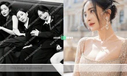 Yang Mi, Tiffany Tang and Cecilia Liu have a reunion after 10 years later
