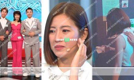 Yoyo Chen has a breakdown in TVB reality show because of her poor performance