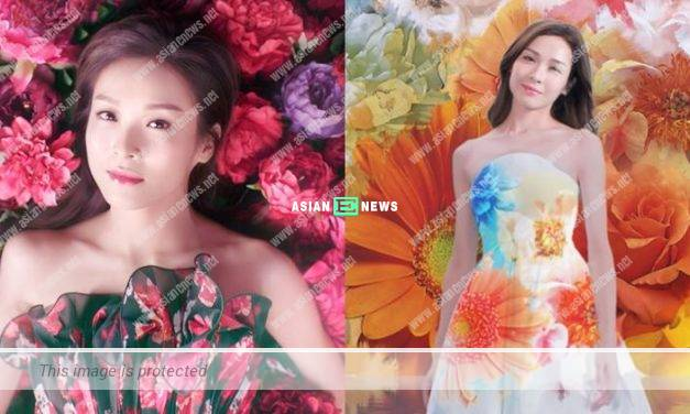 Ali Lee sticks to a healthy diet to maintain her good skin complexion